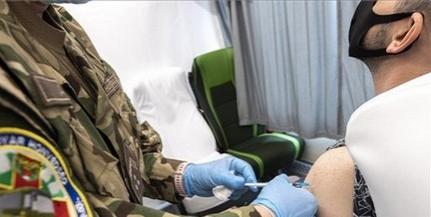 Baranyában is bekapcsolódott a vakcinák beadásába a honvédség oltóbusza