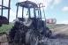 Kigyulladt és fémtisztára égett egy traktor