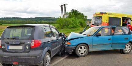 Tizenegyen sérültek meg Baranya megye útjain az elmúlt egy hét során