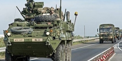 Az M6-oson is összefuthatunk katonai konvojokkal