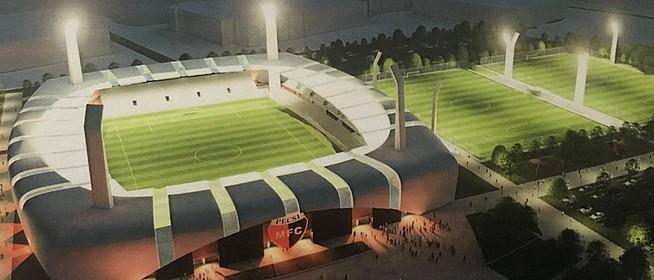 Újabb határozatban erősítette meg a kormány, hogy bizony felépül az új stadion Pécsett