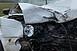 Oszlopnak csapódott egy autó a 66-oson, Gödrén