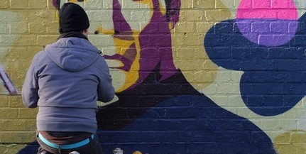 Közérdekű munkára ítéltek egy mohácsi falfirkálót