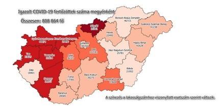 Így alakult a járványhelyzet hétvégén Baranyában