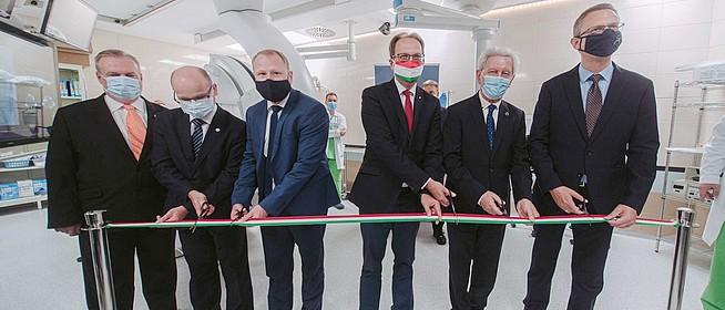 Ultramodern készülékkel gazdagodott a PTE Szívgyógyászati Klinikája - Csökken a várakozási idő