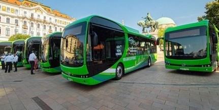 A jövő év elején újabb nyolc, tisztán elektromos busz állhat forgalomba Pécsett
