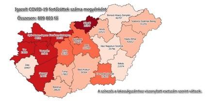 Baranyában is emelkedik a napi új fertőzöttek száma