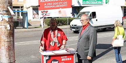 Thürmer Gyula Pécsett: politikai színjáték, megtévesztés az ellenzéki előválasztás