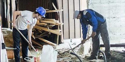 Fokozottan ellenőrzik az építőanyag kivitelt a pénzügyőrök