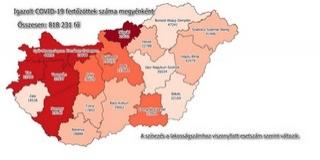 Ezernél is több új fertőzöttet azonosítottak az országban