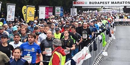 Háromezren álltak rajthoz a budapesti maratonfutáson
