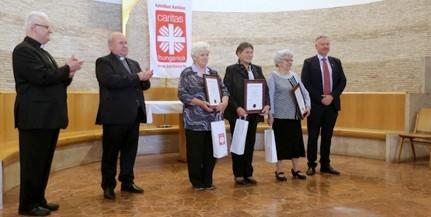 Három baranyai önkéntes munkáját ismerték el Karitász Hungarica Díjjal