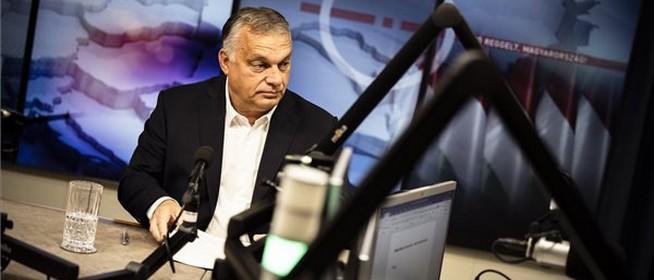 Orbán Viktor: az oltás felér egy életbiztosítással, az országot bekerítette a vírus