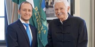 Mohácson ünnepelt a megye - Köszöntjük Baranya új díszpolgárát, dr. Andrásfalvy Bertalant!