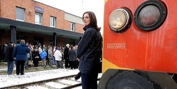 Újra jár a vonat a Komló-Sásd vonalon