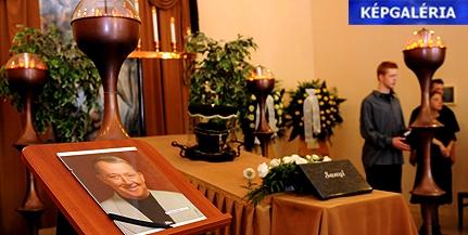 Elbúcsúztatták N. Szabó Sándort a pécsi Nemzeti örökös tagját