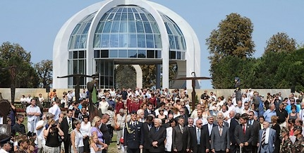 Átadták a Mohácsi Történelmi Emlékhely új fogadóépületét