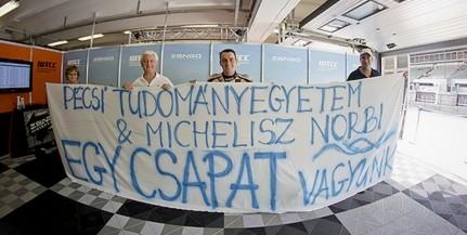 Michelisz Norberttel robog tovább a PTE Meseszép... kampánya