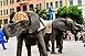 Artisták és egzotikus cirkuszi állatok lepték el a belvárost - GALÉRIA