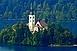 Bled, Szlovénia gyöngyszeme az őszi szünetben