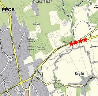 Megcsúszott a rézsű Pécs határában a régi hatoson Pest felé, de már helyreállt a forgalom