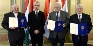 Fraknói-díjas lett a Pécsi Hittudományi Főiskola tanára