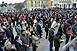 Mintegy ötszázan akarták leváltani Orbán Viktort a pécsi Széchenyi téren