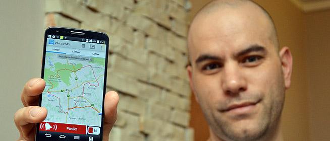 Győr, Fehérvár és Miskolc is érdeklődik a pánikgombos pécsi mobil applikáció iránt