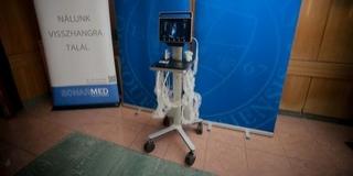 Nagy értékű ultrahang készülékkel gazdagodott a PTE