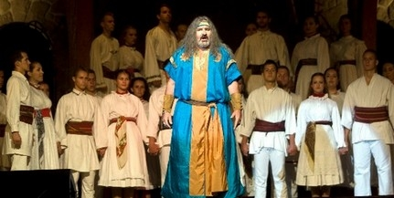 Rudán Joe-val a színpadon elevenedik meg Csaba királyfi története a pécsi Dóm téren