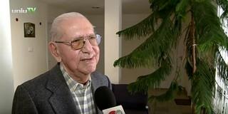 A PTE-re jár az ország legidősebb egyetemistája, a 80 éves Harsányi Ernő