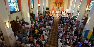 Krakkóban tartott szentmisét Udvardy György megyéspüspök