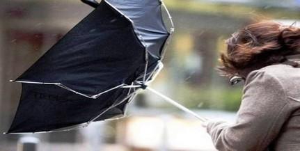 Több megyében lehetnek erős széllökések pénteken