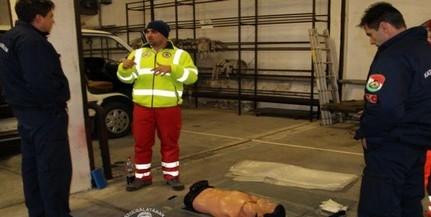 Egészségi napot tartottak a megyei tűzoltók