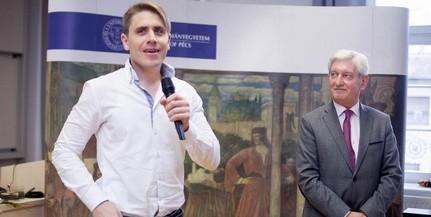 Palotai Tamás kapta az idei Pécsi Felsőoktatásért Sajtódíjat
