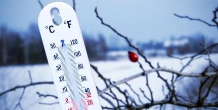 Megdőlt a napi hidegrekord, -28,1 fokig hűlt a levegő