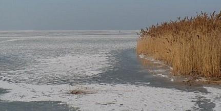 Helyenként már vastag, de még nem biztonságos a Balaton jege