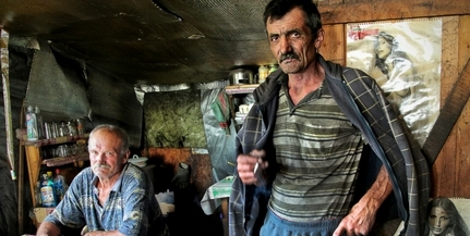 Pécsi fotós is megörökítette a szegénység (h)arcait