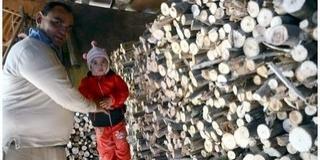 Félszáz család részesült tűzifa- és élelmiszer-adományban