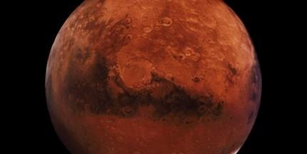 Látványos előadást tartanak a Marsról