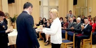 Elismerések a Polgári Védelmi Nap ünnepségén
