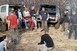 Terepjáró vezetéstechnikai gyakorlaton a siklósi önkéntesek