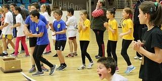 Együtt sportoltak az egyházmegye diákjai