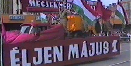 Ilyen volt az 1986-os május elseje Pécsett, miközben titkolták a csernobili katasztrófát - Videó!