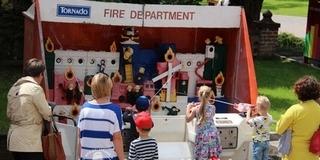 Rendőr- és tűzoltónapot tartottak a Negyedben