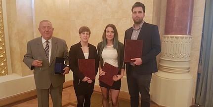 Kitüntetést és ösztöndíjat kaptak a PTE sportkiválóságai
