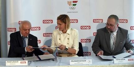 Újabb négy évig támogatja a COOP a Magyar Olimpiai Csapatot