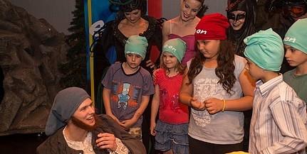 Gyerekeket látott vendégül a Pécsi Balett és az E.ON, sok lurkó most volt először színházban