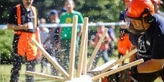 Favágók részére rendeznek országos bajnokságot Orfűn