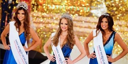 Koroknyai Virág nyerte a Miss World Hungary szépségversenyt